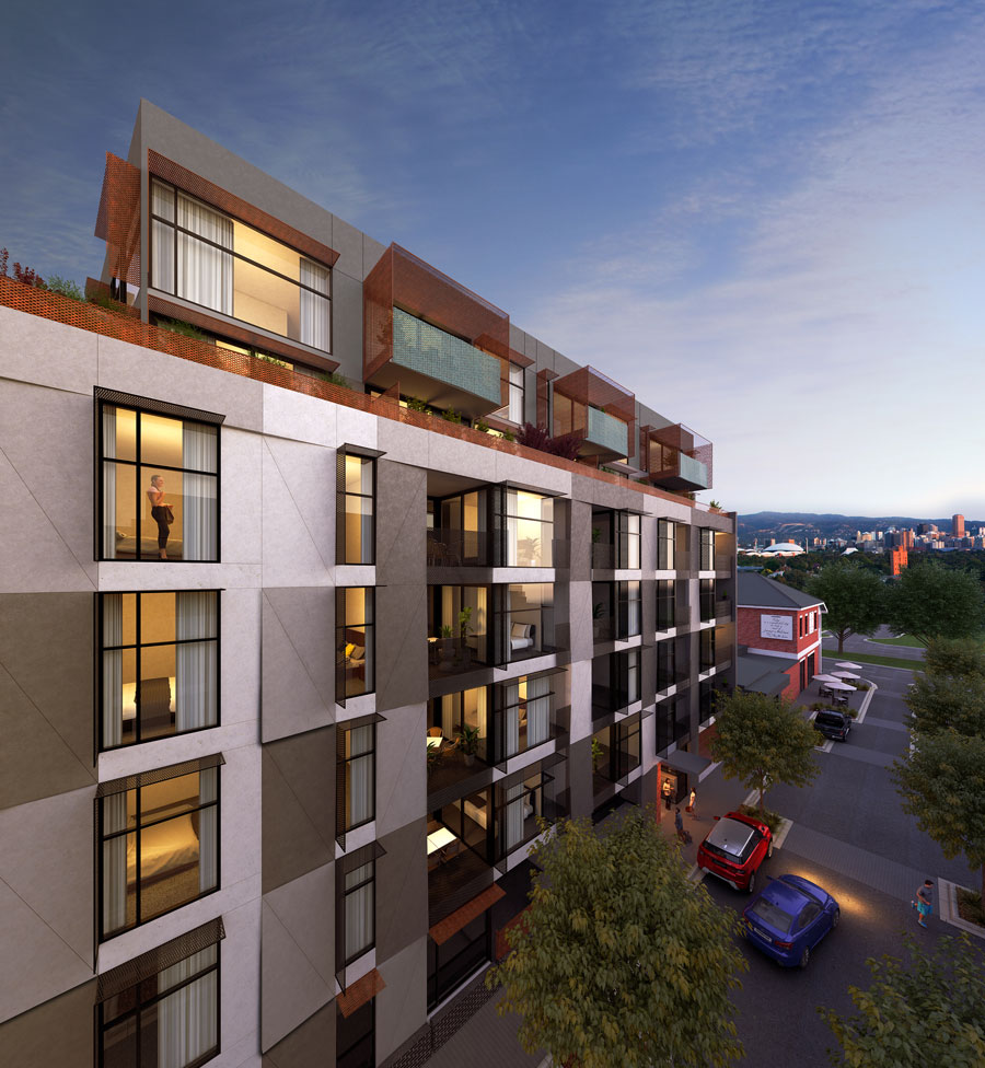 Taylor Park Apartments: The Artisan Apartments For Sale In Adelaide, Bowden
